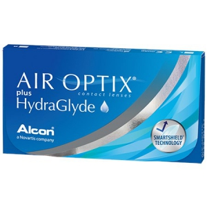 Air Optix Plus HydraGlyde 6 szt + krople gratis