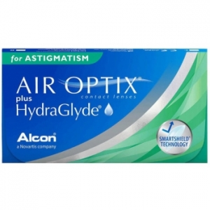 Air Optix Plus HydraGlyde for Astigmatism, 3 szt.